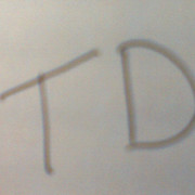T D on My World.